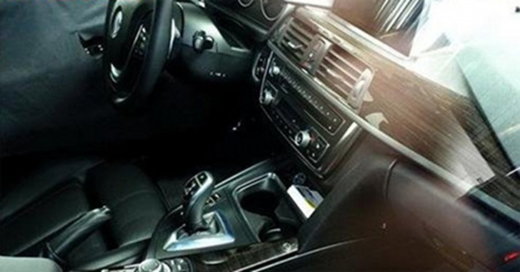 New BMW 3 Series Interior Revealed in Spy Photos