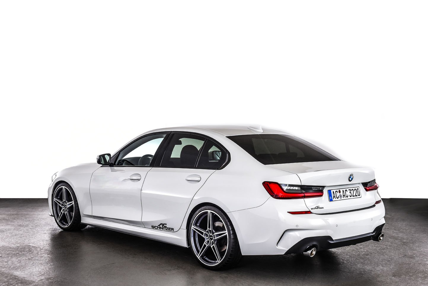 New Bmw 3 Series Receives Aftermarket Upgrades From Ac Schnitzer Autoevolution