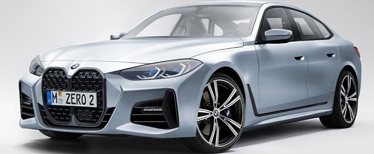 New Bmw 4 Series Gran Coupe Rendered Looks Spot On Autoevolution