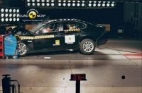 BMW 5 Series in Euro NCAP crash test photo