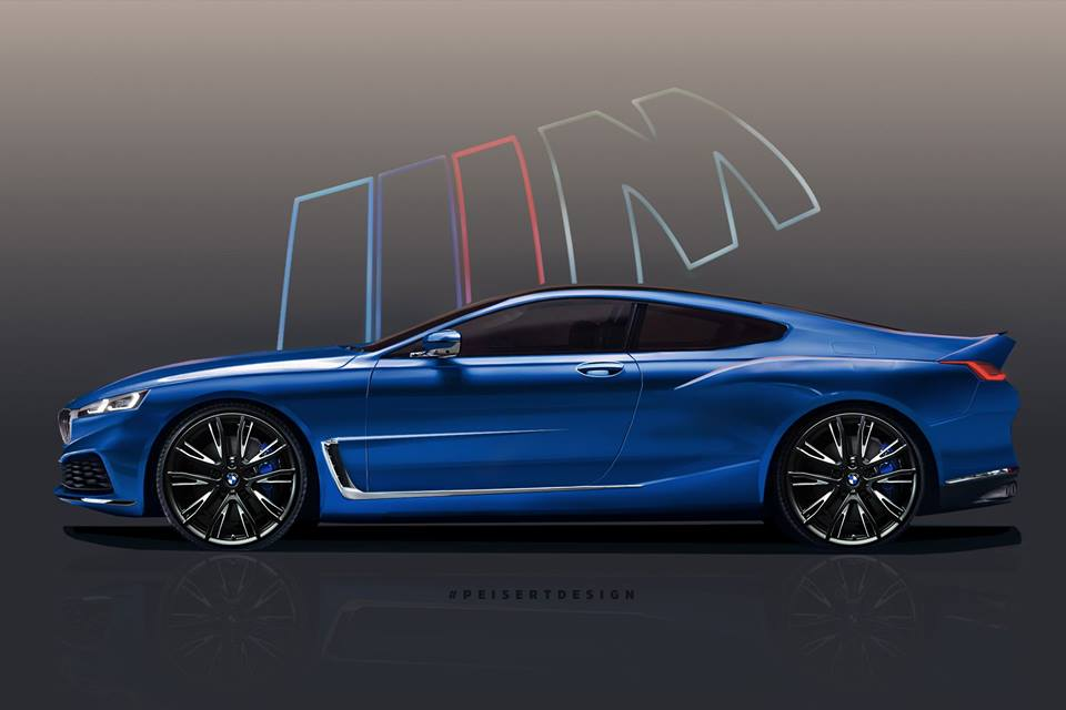 New Bmw 8 Series Rendered Based On Official Teaser 2019 Bmw M8