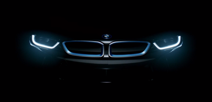 New BMW i8 Teaser Will Make You Drool [Video]