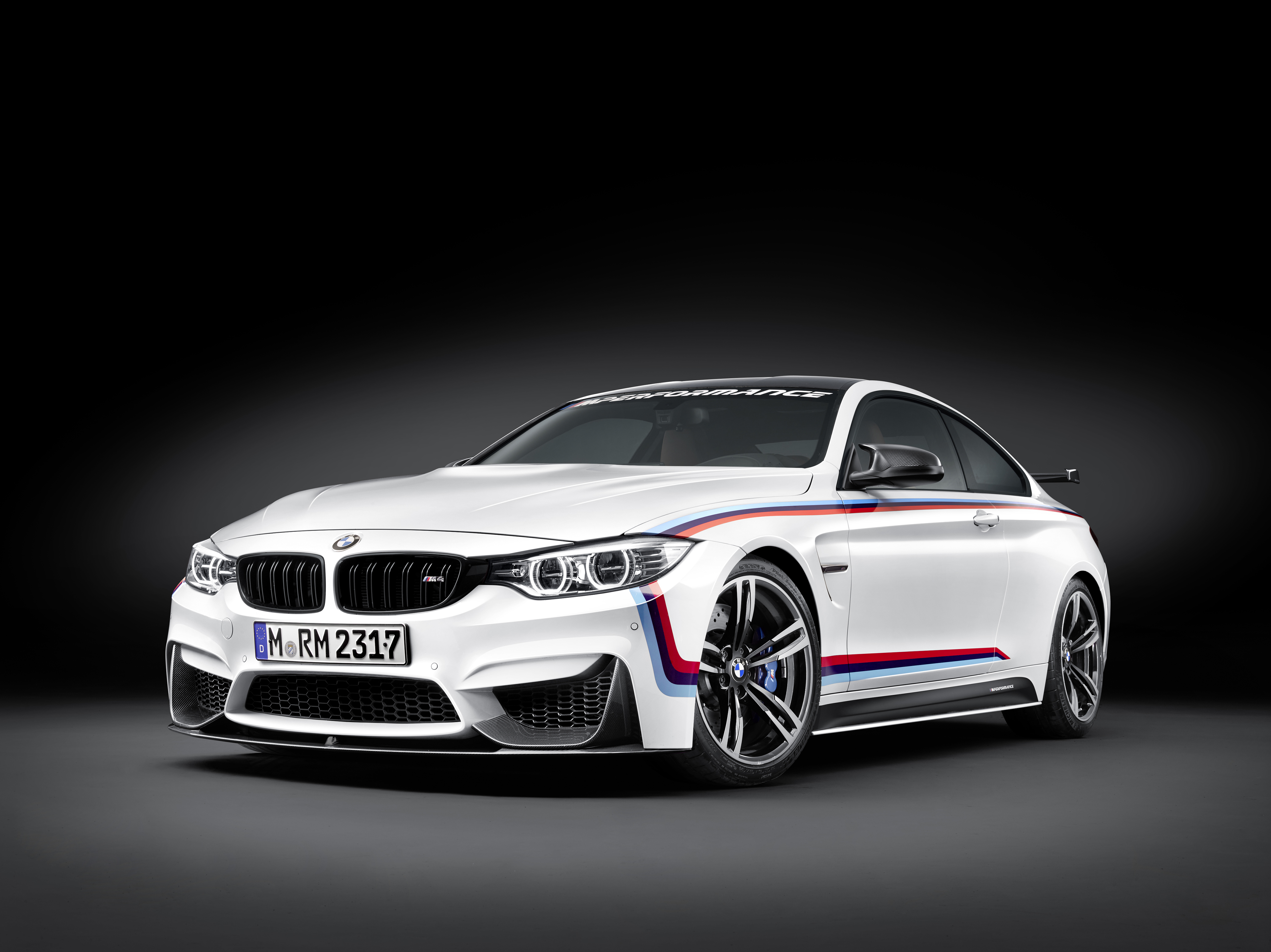 new bmw m4 m performance parts introduced at sema 2015 including cfrp wing autoevolution. Black Bedroom Furniture Sets. Home Design Ideas
