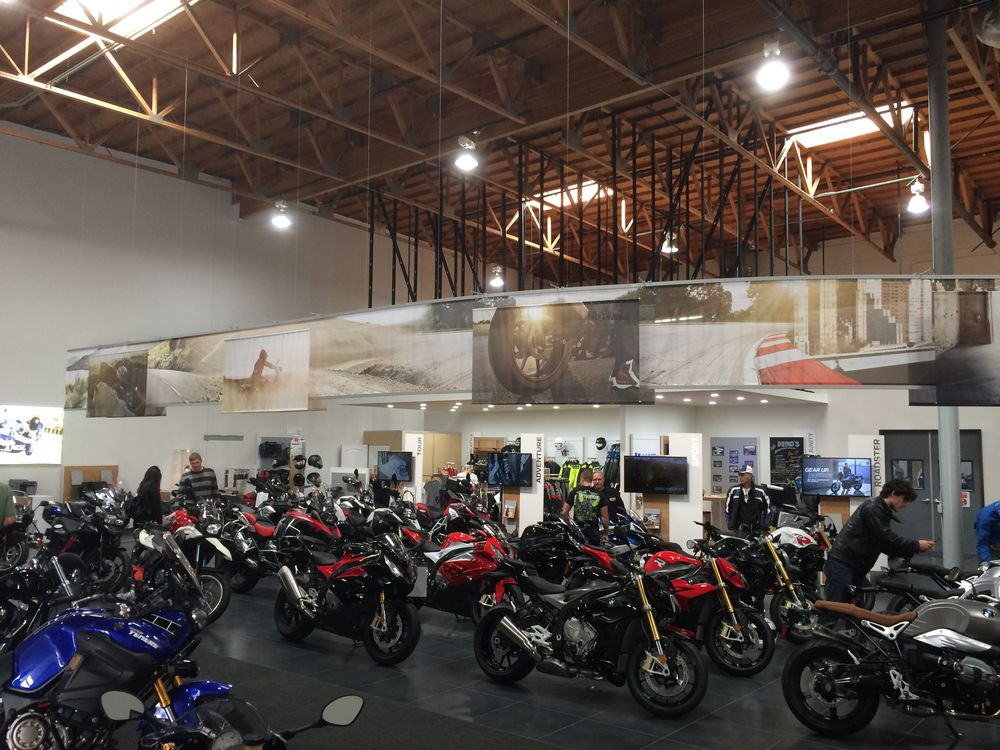 new bmw motorrad dealership opens up in burbank, california