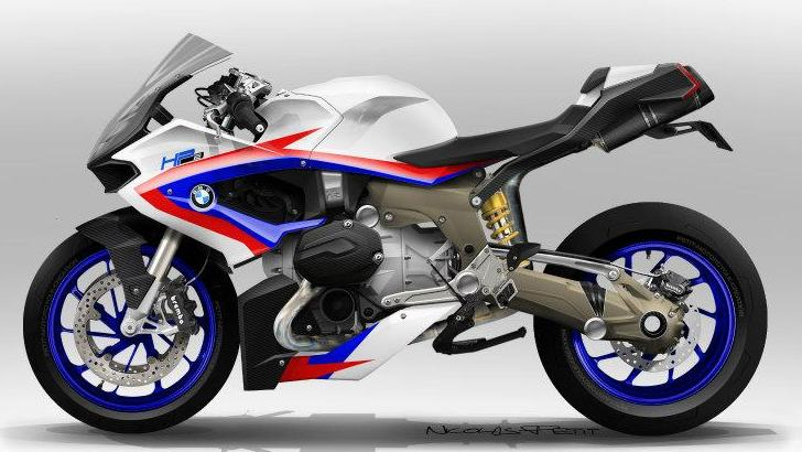 New BMW R1200S Custom Sketches Looking Great