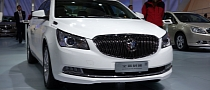 New Buick LaCrosse Flagship Sedan Debuts at 2013 Shanghai Auto Show [Photo Gallery]