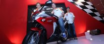 New CBR250R Launched in Indonesia by Repsol Honda Riders