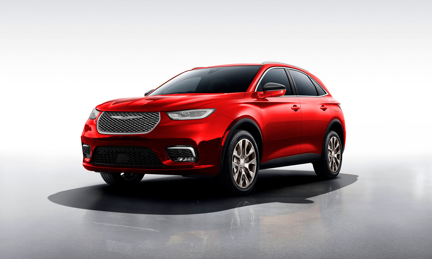 Modern Chrysler Aspen Rendered as the SUV Chrysler Absolutely