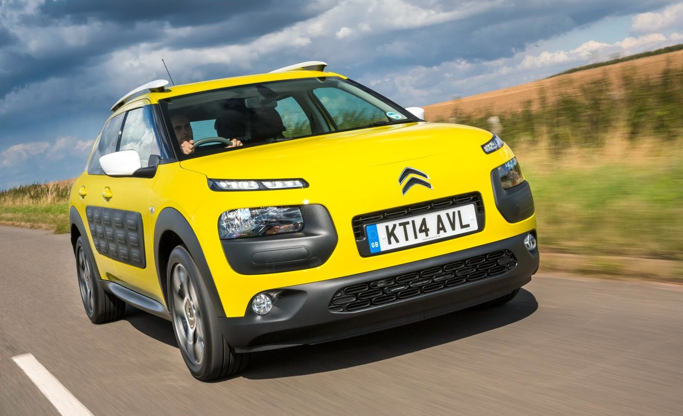 new citroen c4 cactus launched in britain priced below nissan juke autoevolution. Black Bedroom Furniture Sets. Home Design Ideas