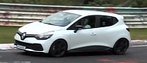 New Clio IV RS Spotted Testing on Nurburgring [Video]
