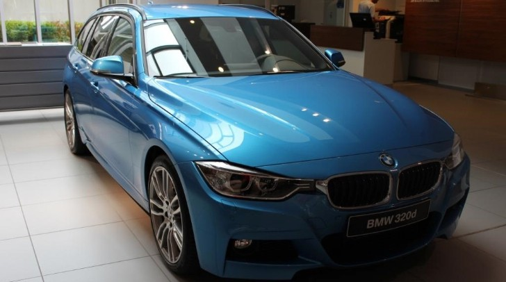 New Color Alert: BMW F31 3 Series Touring in Kingfisher Blue [Photo Gallery]
