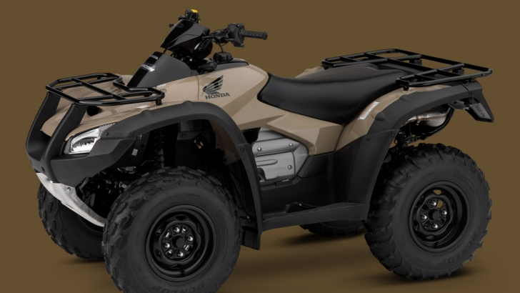 Smart World New Colors For The 2014 Honda Fourtrax Rincon In August