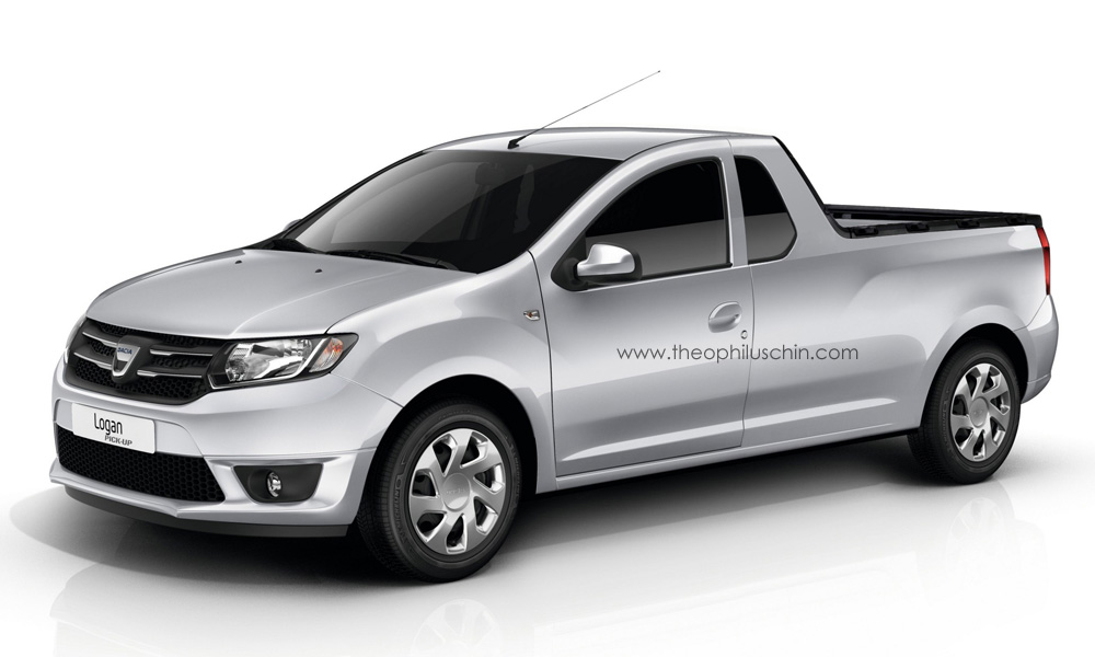 new dacia logan pick up autoevolution. Black Bedroom Furniture Sets. Home Design Ideas