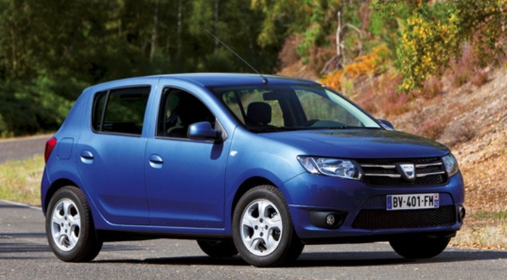 New Dacia Sandero II Photos, Interior Gets 7-Inch Display