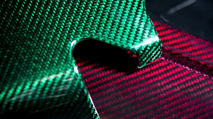 New Deep-Luster Colored Carbon Fiber from Prodrive