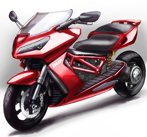 New Ducati Maxi Scooter In The Works Rumor Autoevolution