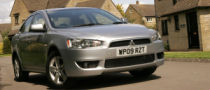New Entry Level Mitsubishi Lancer for the UK