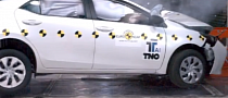 New Euro-Spec Toyota Corolla Gets 5-Star Euro NCAP Rating [Video]