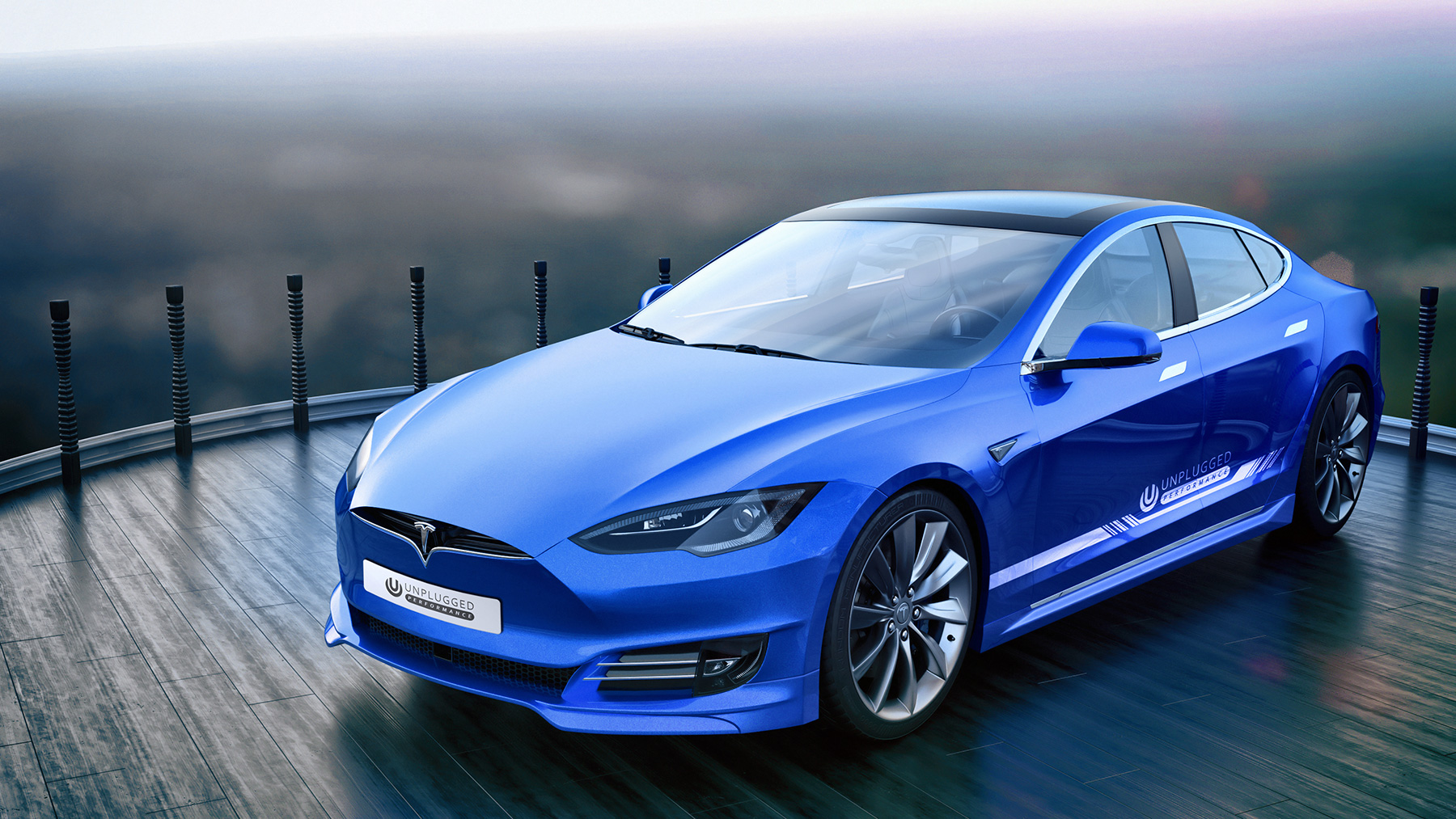 Tuning Company Proposes New Face For Old Tesla Model S Autoevolution