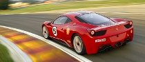 New Ferrari 458 Challenge Ready for Debut at Infineon Raceway