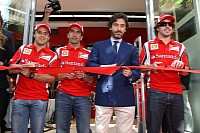 This is the first Ferrari Store in Spain