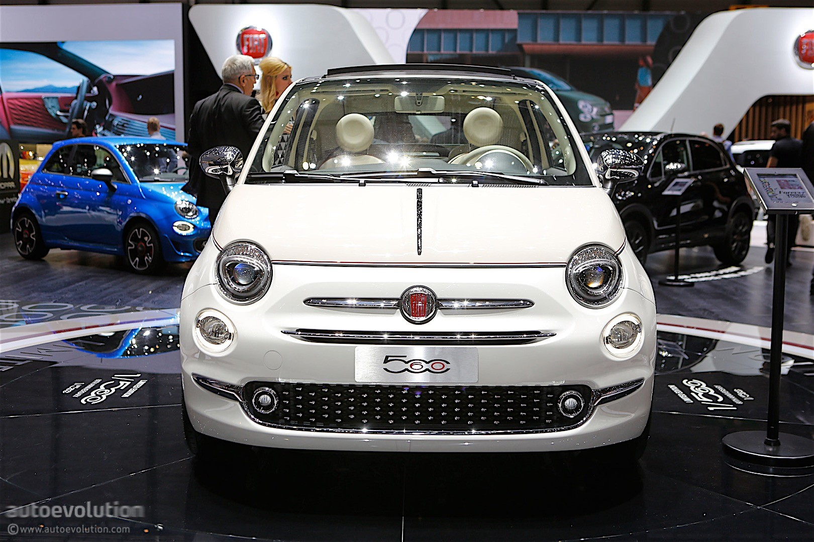Fiat 500 60th Anniversary Sessantesimo 2017 Geneva