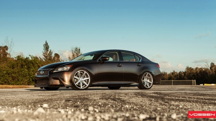 New Fire Agate Pearl Lexus GS on Vossen Wheels [Photo Gallery]