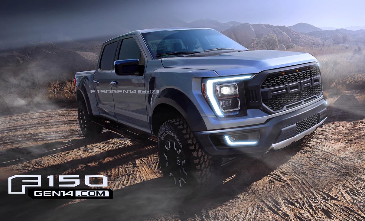 New Ford F 150 Raptor Will Have 5 2 Liter Gt500 V8 And Hybrid V6 Autoevolution