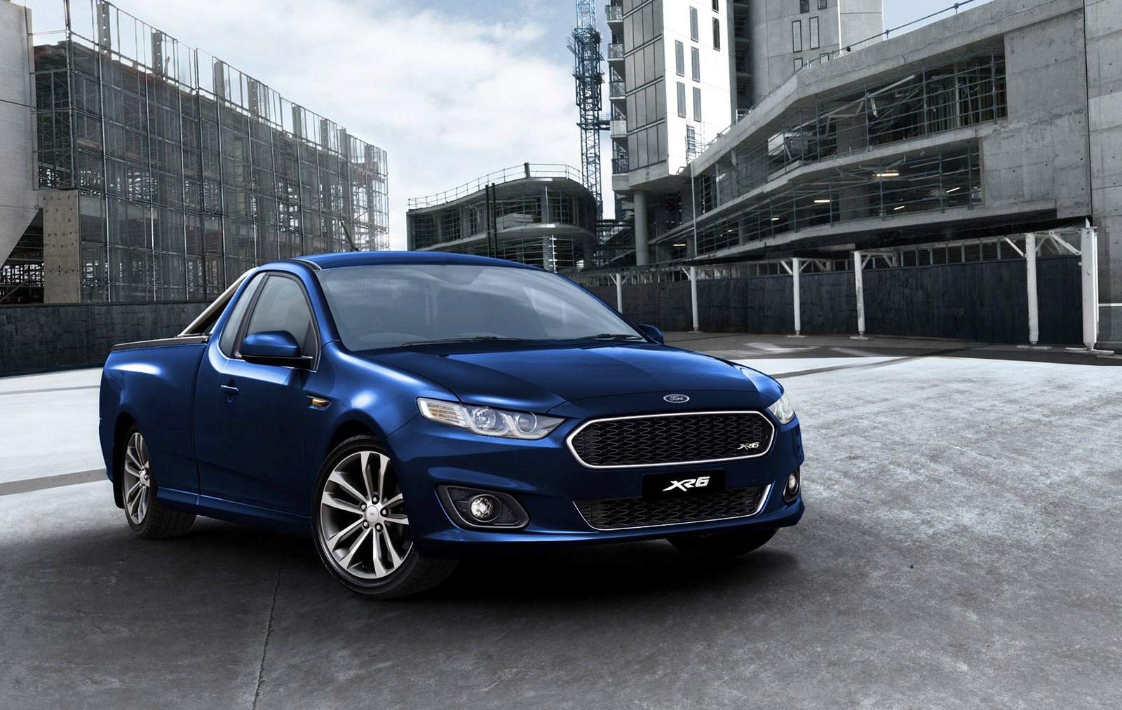 New Ford Falcon Ute XR6 Unveiled - autoevolution
