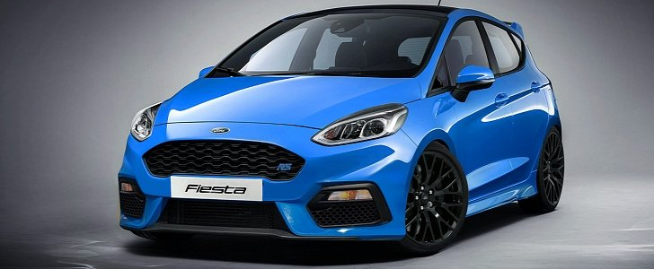 New Ford Fiesta RS Rendered as the Hot Hatch Ford Needs to Build
