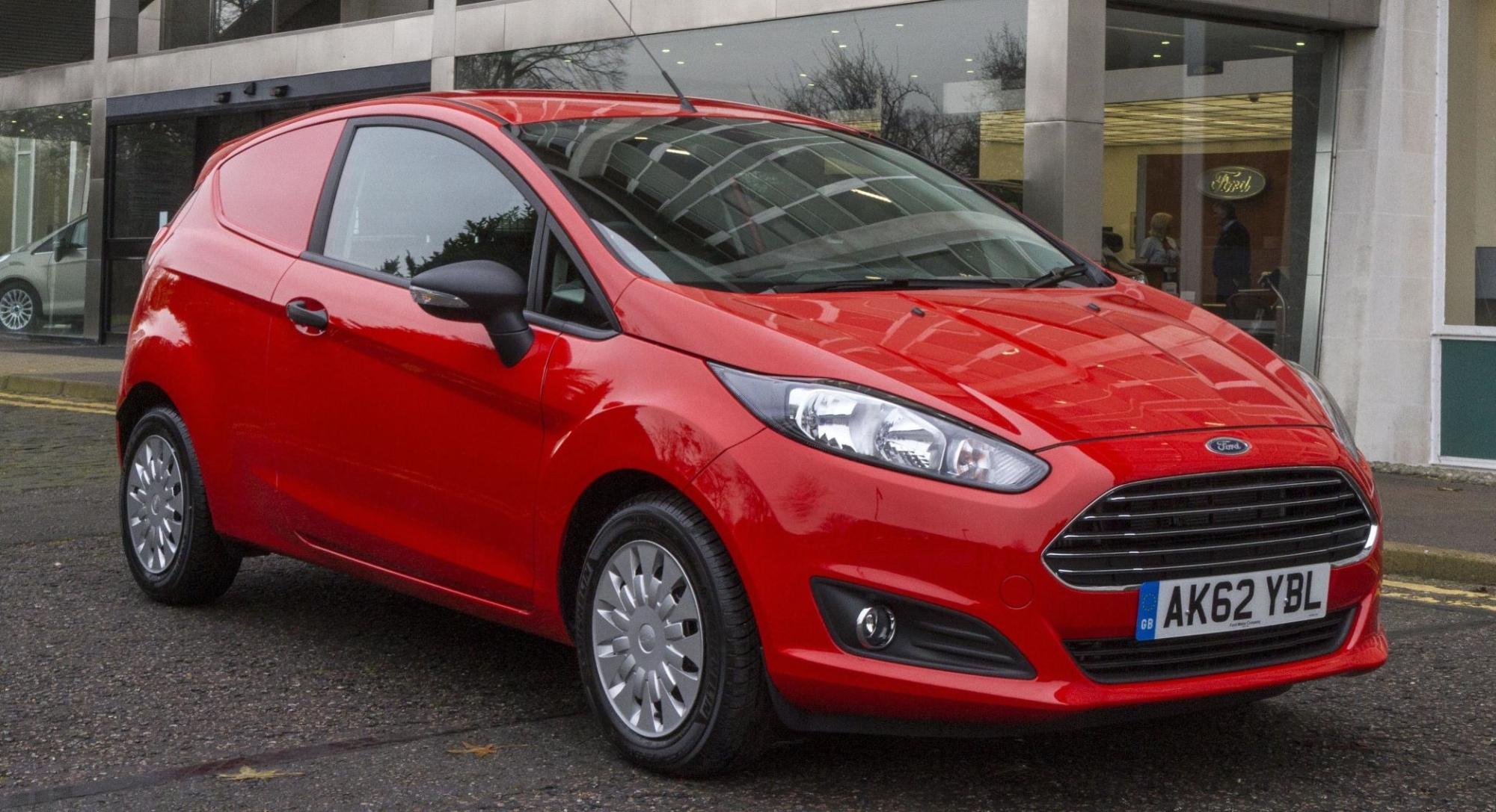 Ford Fiesta Van Dieselvero
