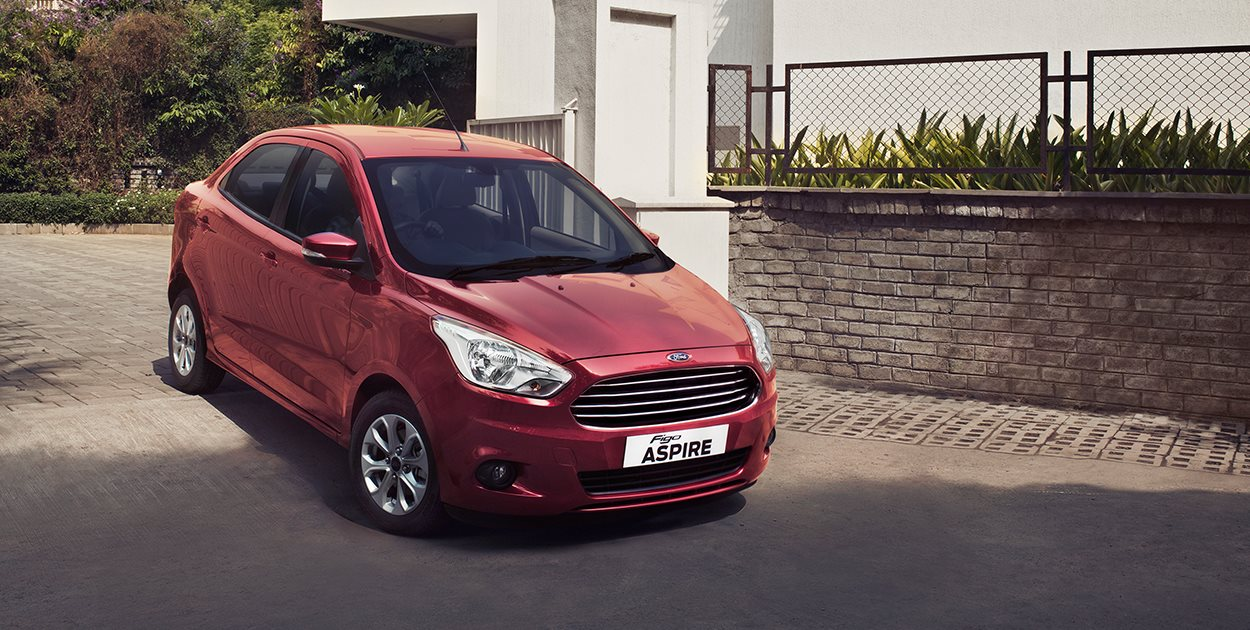 New Ford Figo Aspire Small Sedan Launched In India With Affordable