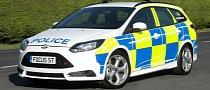 New Ford Focus ST Becomes Police Car in UK [Photo Gallery]