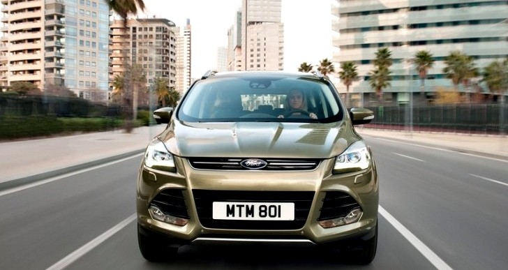 New Ford Kuga Gets UK Pricing Information