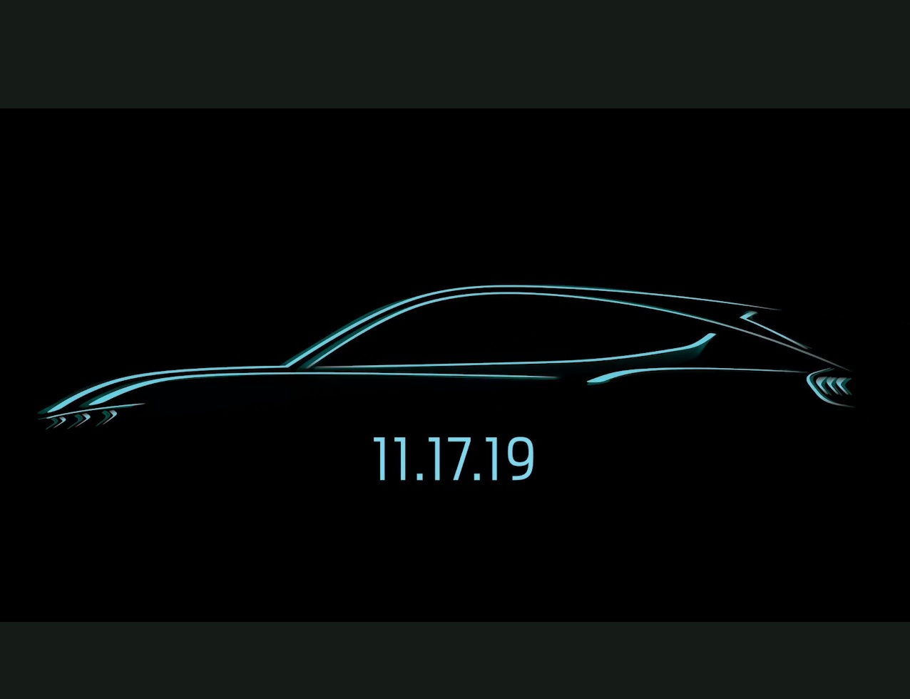 Teaser vid reveals the premiere date of Ford's Mustang-shaped EV
