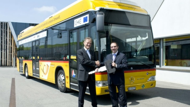 New Fuel Cell Mercedes Citaro Buses Enter Service in Switzerland