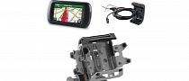New Garmin Montana 600 and 650t Adventure Touring GPS Mounts from Touratech [Photo Gallery]