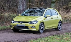 158910f8b85 As the debut date of the new generation Golf hatchback draws near