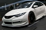 New Honda Civic BTCC Race Car Starts Testing