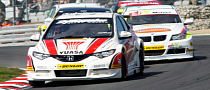 New Honda Civic Touring Car Wins Brands Hatch