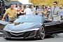 New Honda NSX Previewed by Avengers Movie Acura Concept