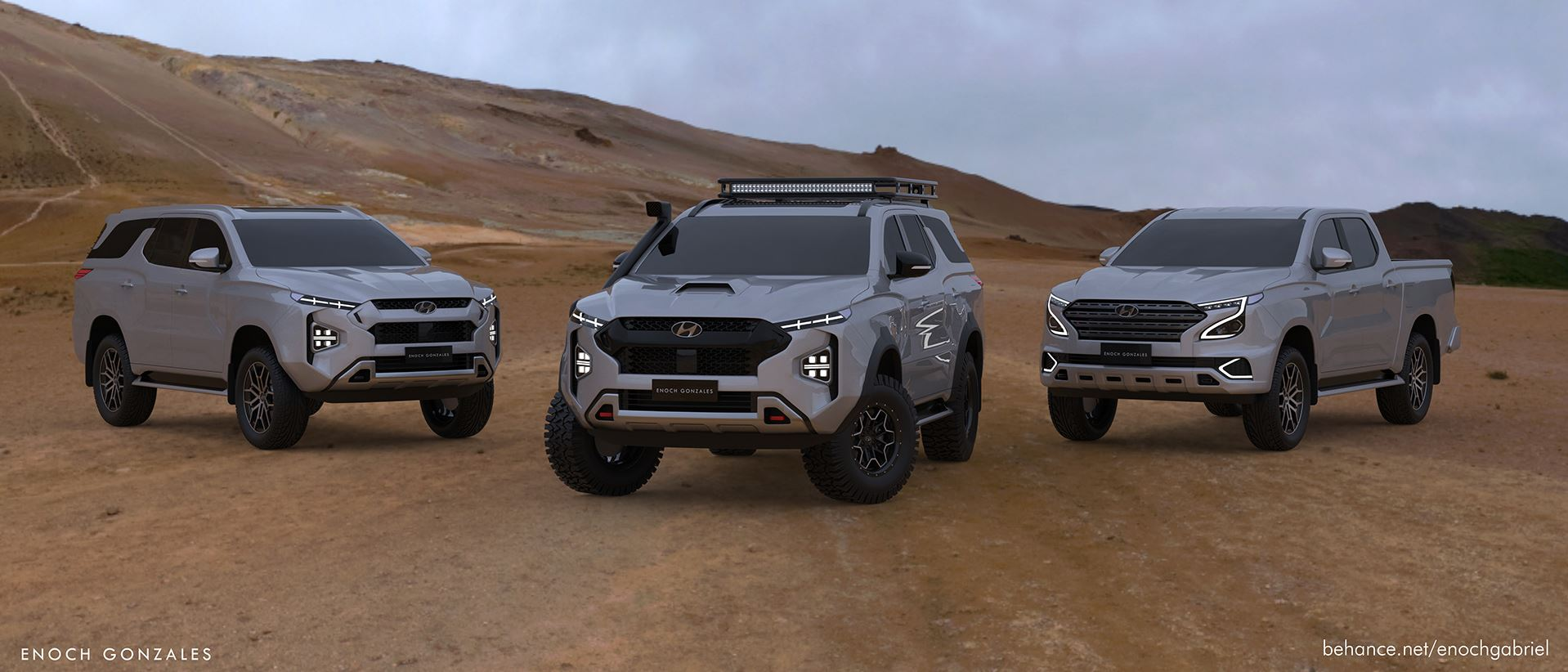 New Hyundai Body-On-Frame SUV Imagined as the 5 Terracan