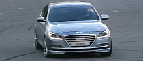 New Hyundai Genesis Spied Completely Undisguised [Photo Gallery]