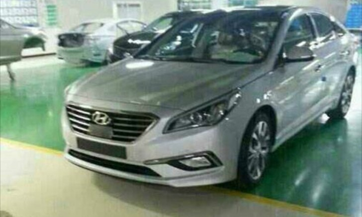 new hyundai sonata to debut march 24 looks like a ford fusion autoevolution. Black Bedroom Furniture Sets. Home Design Ideas