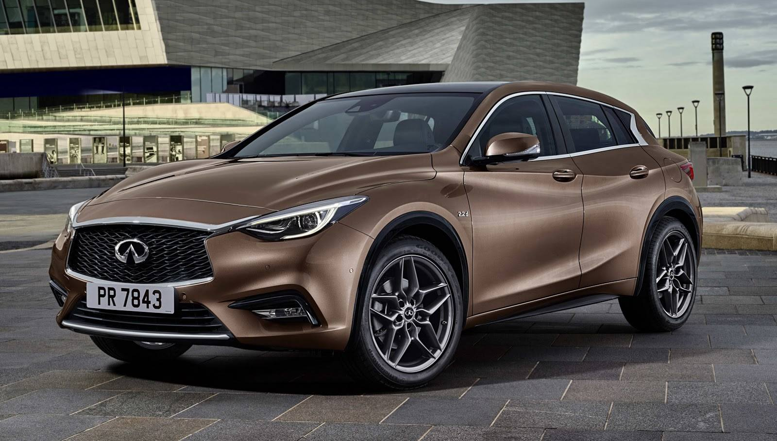 update new infiniti q30 reveals itself in first official photo autoevolution. Black Bedroom Furniture Sets. Home Design Ideas