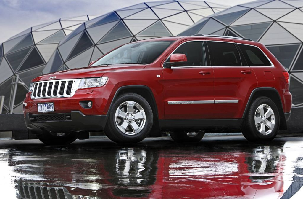 new jeep grand cherokee australian pricing released autoevolution. Black Bedroom Furniture Sets. Home Design Ideas