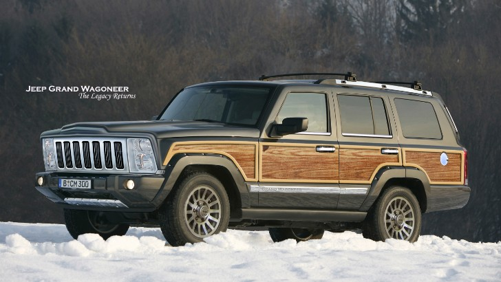 New Jeep Grand Wagoneer Launch Date Set for 2018, to Get ...
