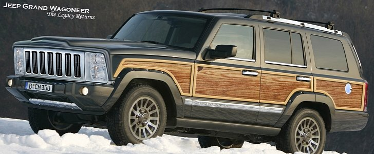 Perfect New Jeep Grand Wagoneer To Be Presented To Dealers This Summer    Autoevolution