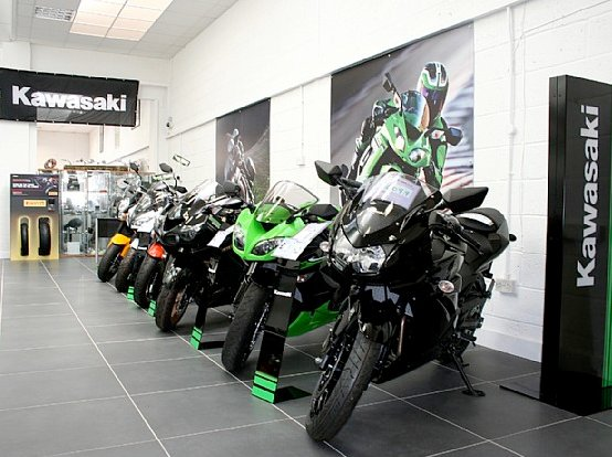 Kawasaki dealers uk