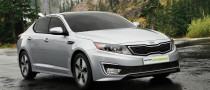 The New Kia Optima Hybrid Debuts at LA Auto Show